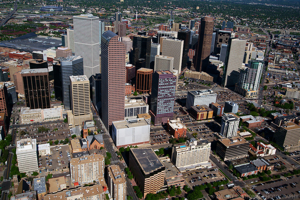 Aerial View, Downtown Denver