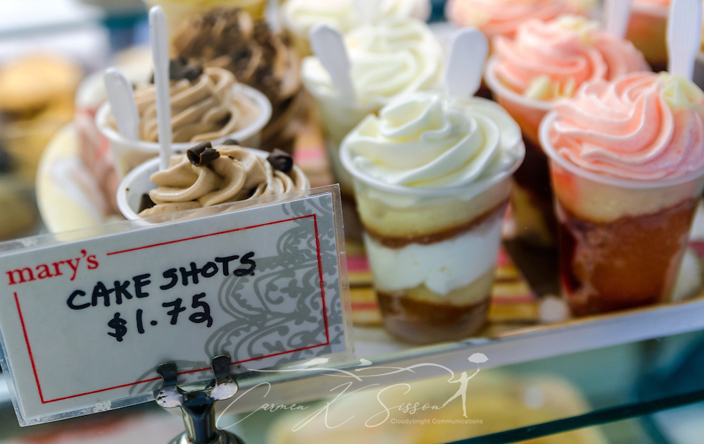 Cakes shots at Marys Cakes Pastries in Northport Alabama Carmen