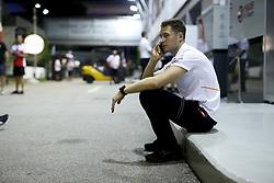 September 13, 2018 - Singapore, Singapore - Motorsports: FIA Formula One World Championship 2018, Grand Prix of Singapore, .McLaren F1 Team  (Credit Image: © Hoch Zwei via ZUMA Wire)