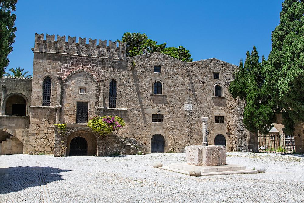 Argyrokastro Square in Rhodes Old Town