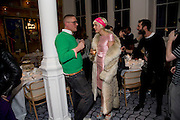 GILES DEACON; AGYNESS DEYN; , Kate Grand hosts a Love Tea and Treasure hunt at Flash. Royal Academy. Burlington Gardens. London. 10 december 2008 *** Local Caption *** -DO NOT ARCHIVE-© Copyright Photograph by Dafydd Jones. 248 Clapham Rd. London SW9 0PZ. Tel 0207 820 0771. www.dafjones.com.<br /> GILES DEACON; AGYNESS DEYN; , Kate Grand hosts a Love Tea and Treasure hunt at Flash. Royal Academy. Burlington Gardens. London. 10 december 2008