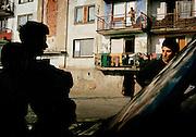 Roma camp -trebisov,slovakia.