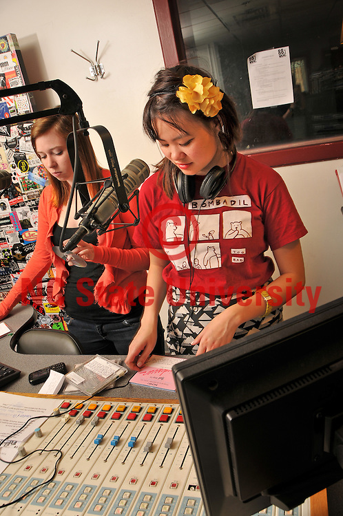 May Chung works at WKNC.
