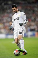 FOOTBALL - UEFA CHAMPIONS LEAGUE 2009/2010 - 1/8 FINAL - 2ND LEG - REAL MADRID v OLYMPIQUE LYONNAIS - 10/03/2010 - PHOTO JEAN MARIE HERVIO / DPPI - RAUL ALBIOL (REAL)