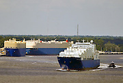 The ARC Roro Endurance leaves sails to sea from the Georgia Ports Authority, Colonel's Island Terminal, Wednesday, Sept. 12, 2012 in Savannah, Ga. The RoRo facility ranks not only among the nation's largest auto facilities, it's also one of the most environmentally clean and pristine operations in the country. (GPA Photo/Stephen Morton)