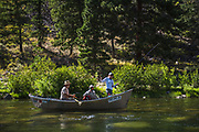 Floating the remote West, catching trout by the basket and seeing nature in its pure raw form is a rush. Ask Kelli who gives it all thumbs up.