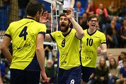 20160130 NED: Volleybal: Inter Rijswijk - Prins VCV, Rijswijk <br />Yannick van Harskamp, Inter Rijswijk