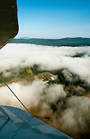 Lakes Biplane flight to Newport airport for flyin August 17, 2013.    © Karen Bobotas Photographer