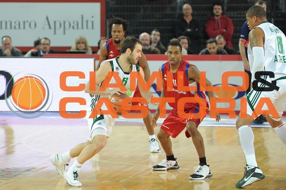 DESCRIZIONE : Roma Eurolega 2008-09 Lottomatica Virtus Roma Panathinaikos Atene<br /> GIOCATORE : Vassillis Spanoulis<br /> SQUADRA : Panathinaikos Atene<br /> EVENTO : Eurolega 2008-2009<br /> GARA : Lottomatica Virtus Roma Panathinaikos Atene<br /> DATA : 26/02/2009<br /> CATEGORIA : Palleggio<br /> SPORT : Pallacanestro<br /> AUTORE : Agenzia Ciamillo-Castoria/G.Ciamillo