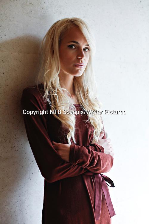 Oslo  20120813.<br /> Forfatter Linn&Egrave;a Myhre under Tiden Norske Forlag lansering av Tidens h&macr;stliste.<br /> Foto: Anette Karlsen / NTB scanpix<br /> <br /> NTB Scanpix/Writer Pictures<br /> <br /> WORLD RIGHTS, DIRECT SALES ONLY, NO AGENCY