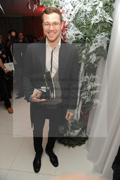 WILL YOUNG at the launch of the English National Ballet's Christmas season 2009 held at the St.Martin;s Lane Hotel, London on 15th December 2009.