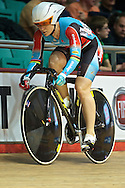 Picture by Ian Wadkins/Focus Images Ltd +44 7877 568959<br /> 02/11/2013<br /> Anna Mears of Australia pictured during day two of the UCI Track Cycling World Cup  at the National Cycling Centre, Manchester.