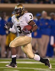 October 10, 2009; San Jose, CA, USA;  Idaho Vandals running back Deonte' Jackson (3) during the third quarter against the San Jose State Spartans at Spartan Stadium. Idaho won 29-25.