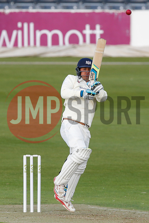 Kieran Noema-Barnett of Gloucestershire - Photo mandatory by-line: Rogan Thomson/JMP - 07966 386802 - 18/05/2015 - SPORT - CRICKET - Bristol, England - Bristol County Ground - Gloucestershire v Kent - Day 1 - LV= County Championship Division Two.