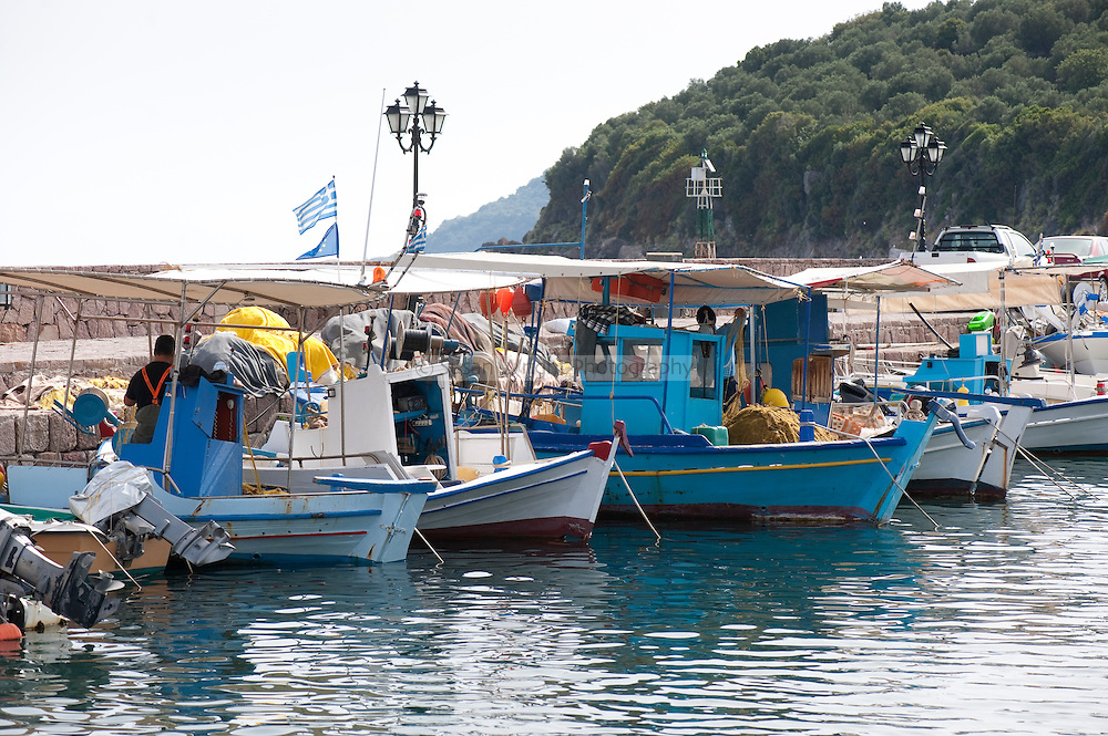 Skala Skamnias, Lesbos, Greece
