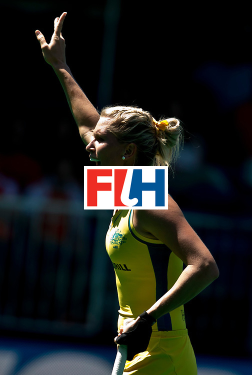30/06/2015<br /> HWL Semi Final Antwerp Belgium 2015<br /> Australia v Italy Women<br /> Jodie Kenny<br /> Photo: Grant Treeby