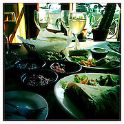 Lunch and drinks are served in the Bodega at Casa Nueva on W. State Street during Mom's Weekend, May 5, 2012.