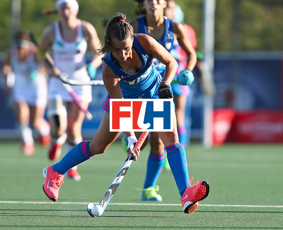 New Zealand, Auckland - 21/11/17  <br /> Sentinel Homes Women&rsquo;s Hockey World League Final<br /> Harbour Hockey Stadium<br /> Copyrigth: Worldsportpics, Rodrigo Jaramillo<br /> Match ID: 10301 - GER vs ARG<br /> Photo: (21) FERNANDEZ LADRA Milagros