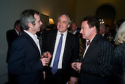HENRY PORTER, Vanity Fair, Baroness Helena Kennedy QC and Henry Porter launch ' The Convention on Modern Liberty'. The Foreign Press Association. Carlton House Terrace. London. 15 January 2009 *** Local Caption *** -DO NOT ARCHIVE-© Copyright Photograph by Dafydd Jones. 248 Clapham Rd. London SW9 0PZ. Tel 0207 820 0771. www.dafjones.com.<br /> HENRY PORTER, Vanity Fair, Baroness Helena Kennedy QC and Henry Porter launch ' The Convention on Modern Liberty'. The Foreign Press Association. Carlton House Terrace. London. 15 January 2009