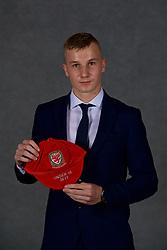 NEWPORT, WALES - Saturday, May 19, 2018: David Robson during the Football Association of Wales Under-16's Caps Presentation at the Celtic Manor Resort. (Pic by David Rawcliffe/Propaganda)
