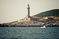 Light house on Vis Island.