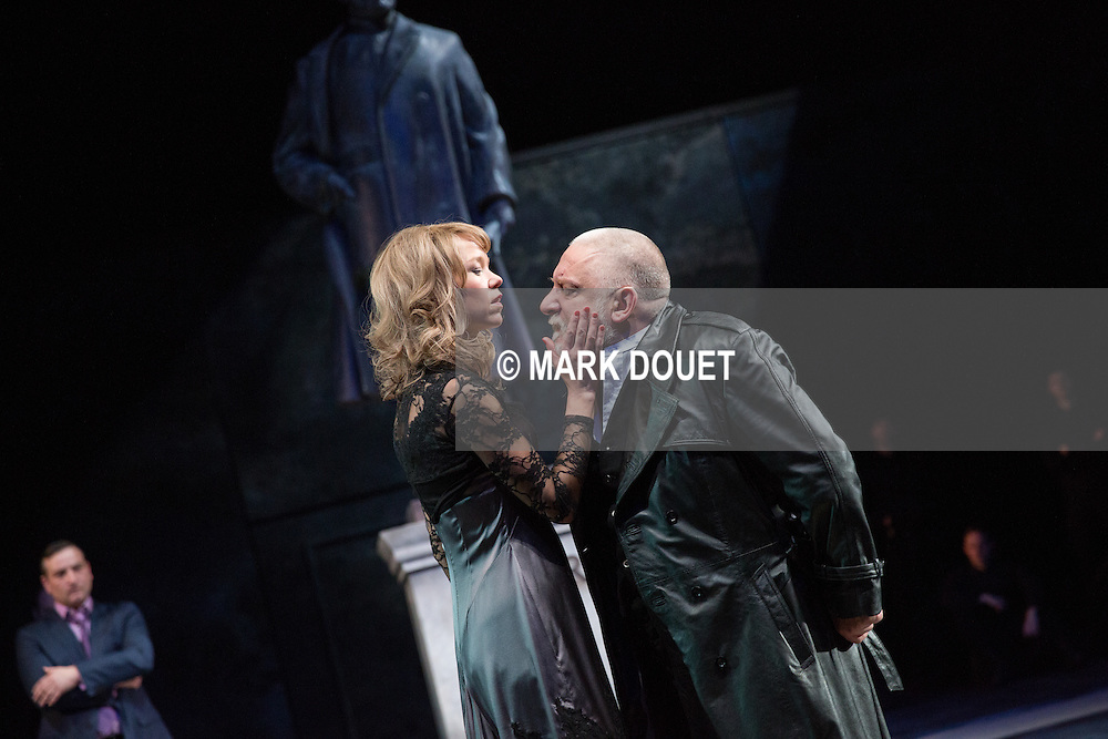 King Lear at the National Theatre.<br /> Director Sam Mendes