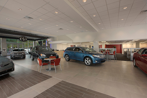 Architectural Interior Image Of Maryland Toyota Dealership R U0026 H In Owings  Mills.