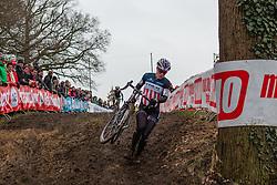 Katherine Compton (USA), Women, Cyclo-cross World Cup Hoogerheide, The Netherlands, 25 January 2015, Photo by Pim Nijland / PelotonPhotos.com