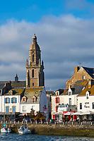France, Loire-Atlantique (44), Le Croisic, le port de pêche et de plaisance // France, Loire-Atlantique, Le Croisic