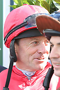 Former Champion Jockey Kieren Fallon during the opening day of the St Leger Festival at Doncaster Racecourse, Doncaster, United Kingdom on 11 September 2019.