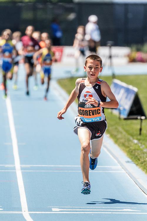 adidas Grand Prix Diamond League Track & Field: Boys Youth Mile, Jonah Gorevic