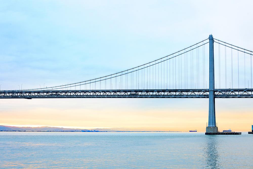 Bay Bridge over San Francisco Bay, San Francisco, California, USA