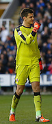Reading goalkeeper, Jonathan Bond celebrates Reading midfielder, Danny Williams'  goal during the Sky Bet Championship match between Reading and Blackburn Rovers at the Madejski Stadium, Reading, England on 20 December 2015. Photo by Andy Walter.