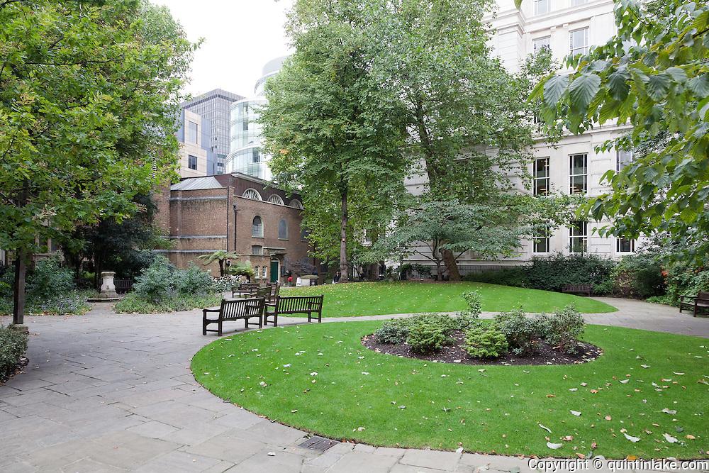 Postman's Park, City of London