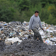 9/8/11 -- BATH, Maine. Bath Landfill.  Photo by Roger S. Duncan.
