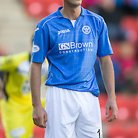 St Johnstone v St Mirren....04.10.14   SPFL<br /> Brian Graham<br /> Picture by Graeme Hart.<br /> Copyright Perthshire Picture Agency<br /> Tel: 01738 623350  Mobile: 07990 594431