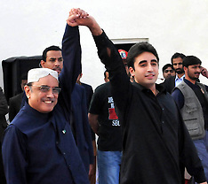 DEC 27 2012 Pakistan's President with Son