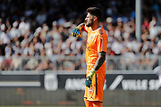 Benoit Costil (Girondins de Bordeaux) during the French championship L1 football match between SCO Angers and Bordeaux on August 6th, 2017 at Raymond-Kopa stadium, France - PHOTO Stéphane Allaman / ProSportsImages / DPPI