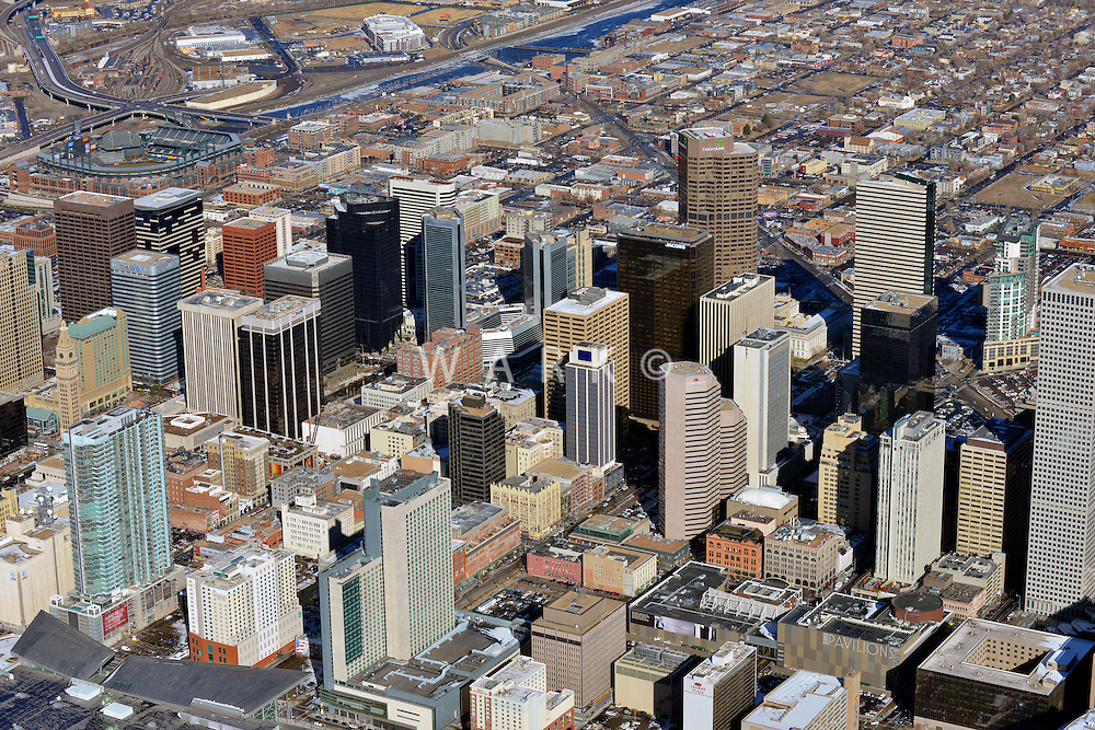 Downtown Denver skyline,   Feb 2011