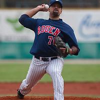 Baseball - European Cup 2009 - Nettuno (Italy) - 01/04/2009 - Tenerife Marlins v Rouen Baseball '76 - Keino Perez