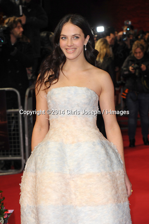Jessica Brown Findlay  attends  the UK premiere of 'A New York Winter's Tale' at The Odeon Kensington, London, United Kingdom. Thursday, 13th February 2014. Picture by Chris Joseph / i-Images