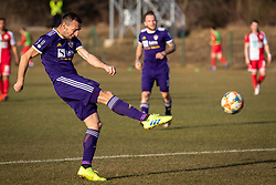 Jasmin Mešanović of Maribor during football match between Aluminij and NK Maribor in 21st Round of Prva liga Telekom Slovenije 2018/19, on March 03, 2019 in Športni park NK Aluminij, Kidričevo, Slovenia. Photo by Blaž Weindorfer / Sportida