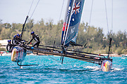 The Great Sound, Bermuda, 21st June 2017, Red Bull Youth America's Cup Finals. Race four. NZL Sailing Team.