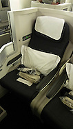 British Airways Club World seat.