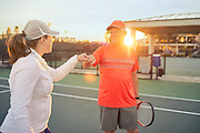 George Jones and Rebecca Matheus portraits taken Wednesday evening November 14, 2018 at Westside Tennis Club.<br /> <br /> Photographed by Houston,TX advertising photographer Nathan Lindstrom<br /> <br /> ©2018 Nathan Lindstrom