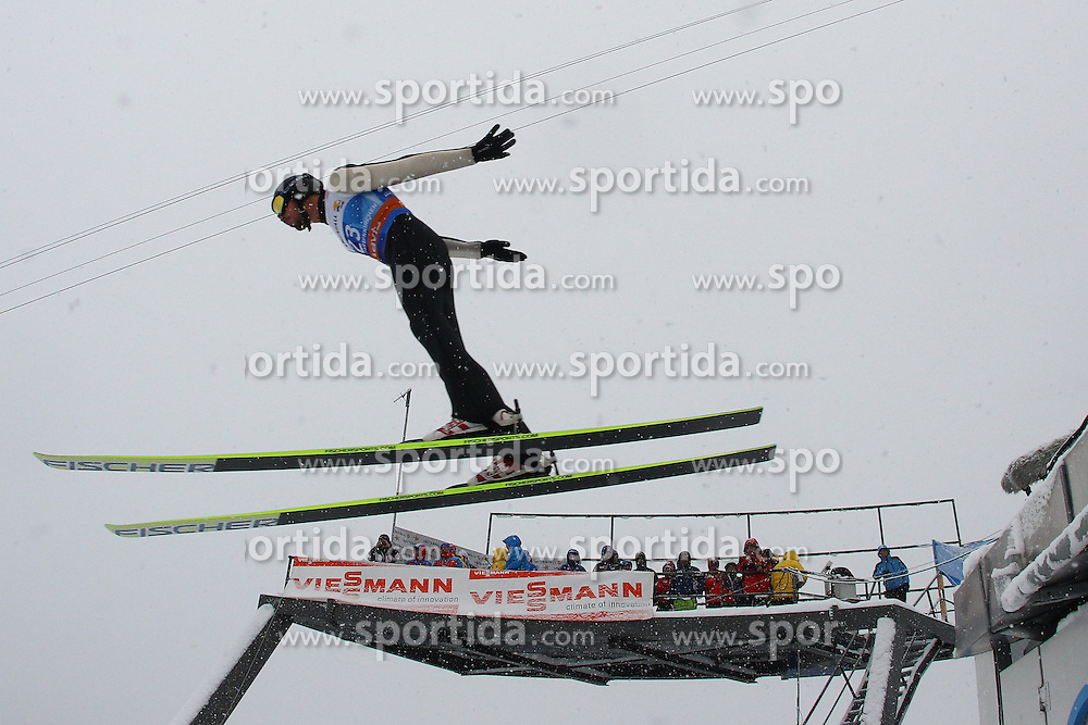 31.12.2011, Olympia Skisprungschanze, Garmisch Partenkirchen, GER, 60. Vierschanzentournee, FIS Ski Sprung Weltcup, Training, im Bild Emmanuel CHEDAL (FRA) // Emmanuel CHEDAL (FRA) during a practice session of 60th Four-Hills-Tournament FIS World Cup Ski Jumping at Olympia Skisprungschanze, Garmisch Partenkirchen, Germany on 2011/12/31. EXPA Pictures © 2011, PhotoCredit: EXPA/ Sven Kiesewetter