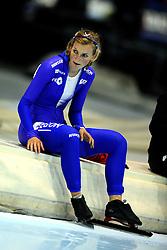 31-10-2009 SCHAATSEN: NK AFSTANDEN: HEERENVEEN<br /> Rosa Pater op de 1000 meter<br /> ©2009-WWW.FOTOHOOGENDOORN.NL