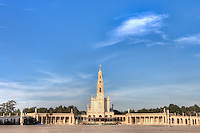 The Sanctuary of Fátima (Portuguese: Santuário de Fátima) is a group of Roman Catholic buildings and structures in the civil parish of Fátima, in the municipality of Ourém in Portugal. Across from the main sanctuary is the much larger Basilica of the Santissima Trinidade constructed after 1953, owing to the limited scale of the Sanctuary for large-scale pilgrimages and religious services.