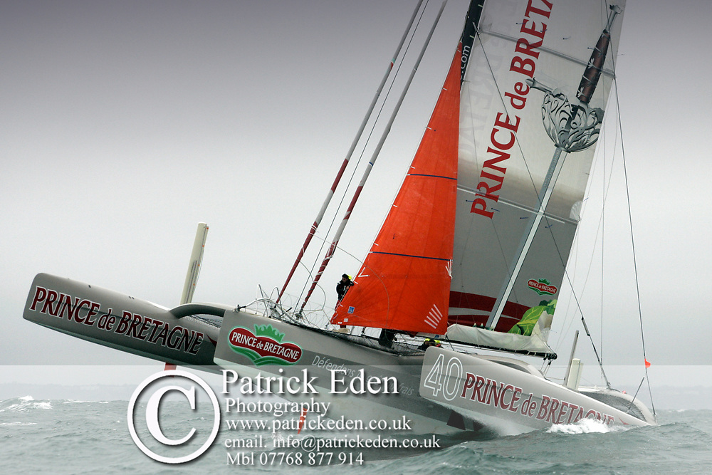 Prince et Bretagne, J P Morgan, Round the Island Race, 2011, Cowes, Isle of Wight, UK, Sports Photography