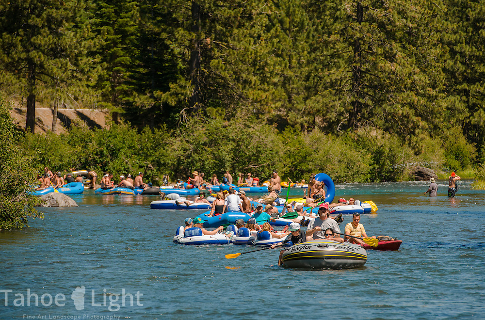 """One of the nation's most popular """"beer floats"""" is along the Truckee River from Tahoe City to River Ranch. Photo by Scott Sady/TahoeLight.com"""